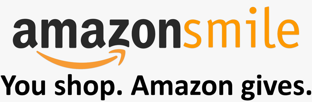 Amazon Smile Logo Link All Access to Life Foundation